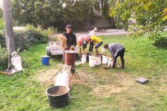 Hlinené omietky – príprava surovín