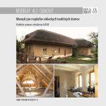 NEBÚRAŤ ALE OBNOVIŤ – Manuál pre majiteľov vidieckych tradičných domov.