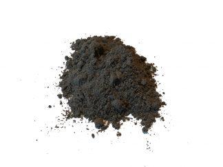 čierny íl montmorillonit