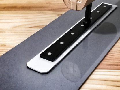 Japonské hladítko plastové hranaté - tvrdé 270 x 1,5mm